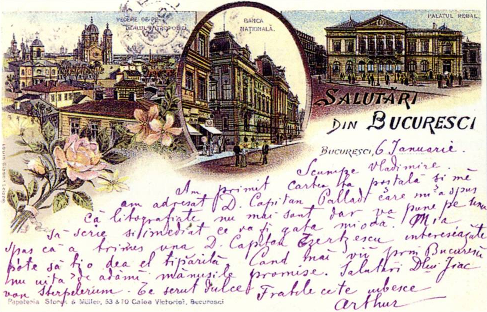 Le Bucarest d'antan et son patrimoine