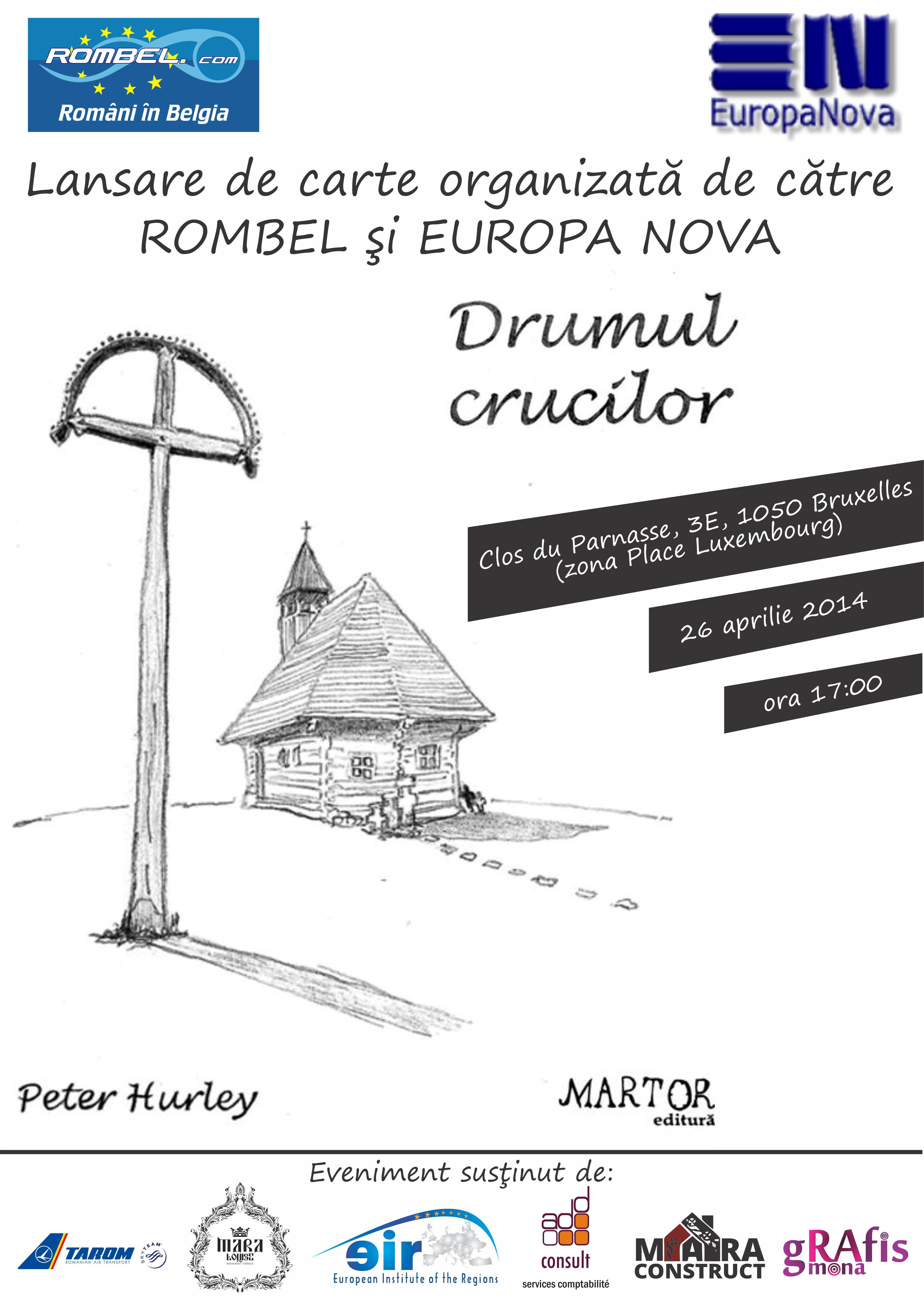 Rencontre avec l'écrivain Peter Hurley le 26 avril à 17h