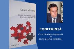 CONFERINȚĂ D. DRAICA