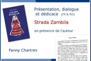 Strada Zambila avec Fanny Chartres